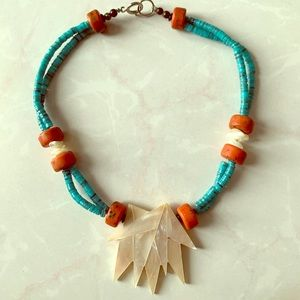 Short Turquoise Necklace